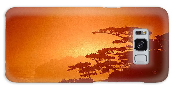 Marin County Sunset Fog Galaxy Case