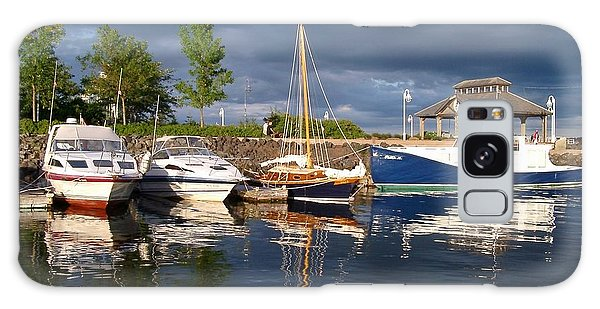 Marina At Charlottetown Prince Edward Island Galaxy Case by Joyce Gebauer