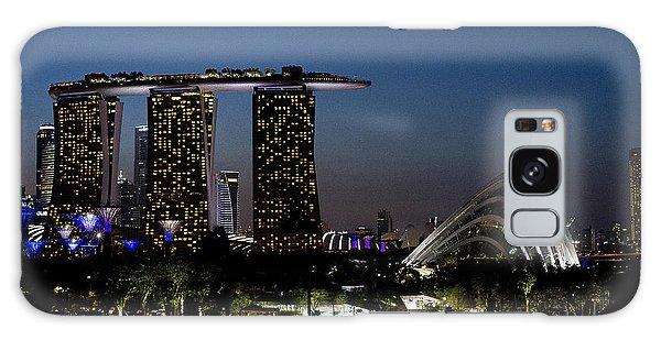 Marina Bay Skyline Galaxy Case