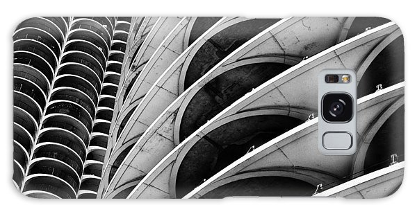 Marina City - Chicago 3 Galaxy Case
