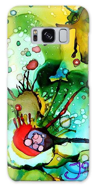 Marine Habitats Galaxy Case by Jolanta Anna Karolska