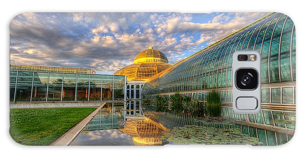 Marjorie Mcneely Conservatory Evening  Galaxy Case
