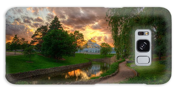 Marjorie Mcneely Conservatory Reflections Galaxy Case