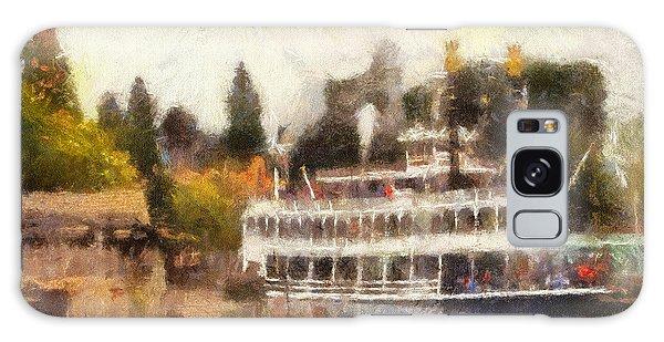 Mark Twain Riverboat Frontierland Disneyland Photo Art 02 Galaxy Case by Thomas Woolworth