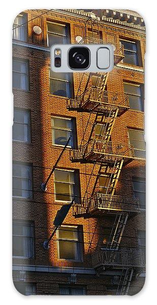 Market Street Area Building 4 Galaxy Case