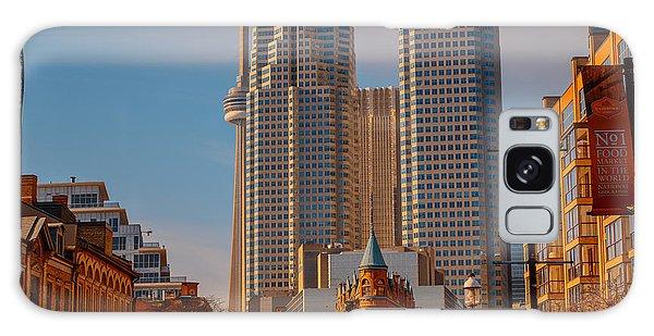 Market Town Toronto Galaxy Case
