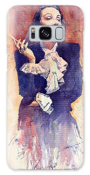 Portret Galaxy Case - Marlen Dietrich  by Yuriy Shevchuk