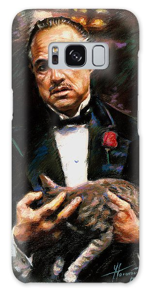 Marlon Brando The Godfather Galaxy Case by Viola El