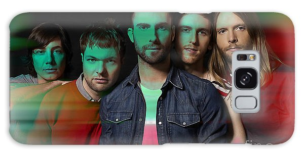 Maroon 5 Painting Galaxy Case by Marvin Blaine