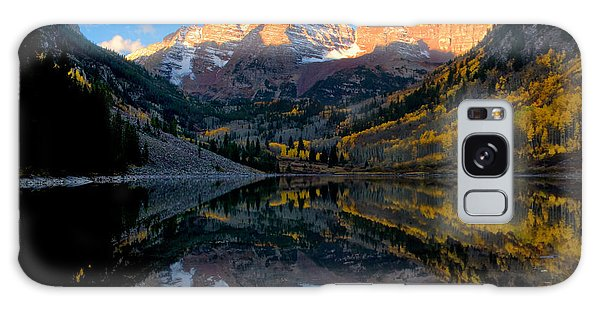 Maroon Bells Landscape Galaxy Case by Ronda Kimbrow