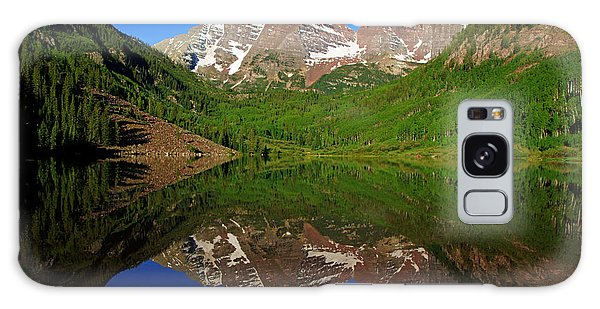 Maroon Bells Reflection Galaxy Case by Daniel Woodrum
