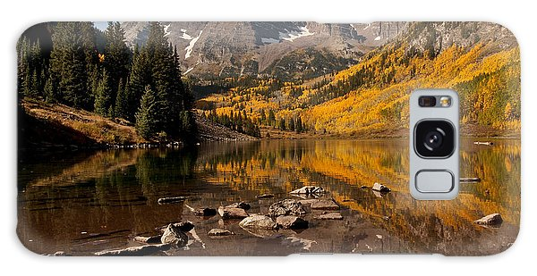 Maroon Bells Reflection Galaxy Case
