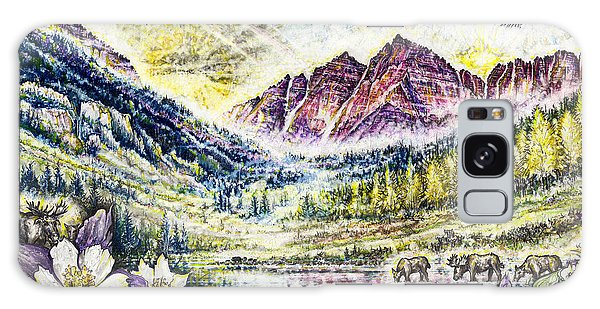 Maroon Bells  Galaxy Case by Scott and Dixie Wiley