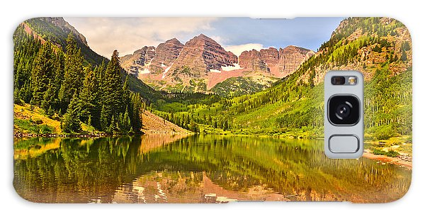 Maroon Bells Summer Galaxy Case