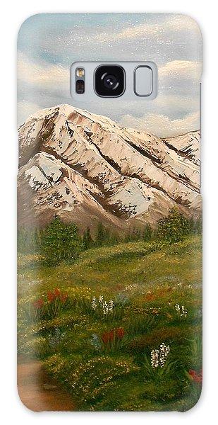 Maroon Trail Splendor Galaxy Case by Sheri Keith