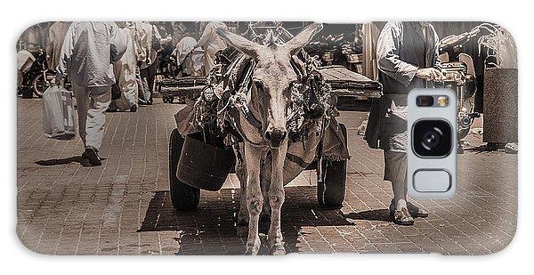 Marrakech Sounk Donkey Cart Galaxy Case