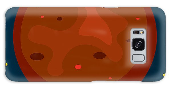 Space Galaxy S8 Case - Mars by Christy Beckwith