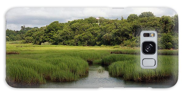 Marsh At High Tide Galaxy Case