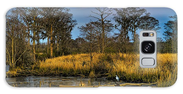 Pawleys Island Marsh Moon Galaxy Case