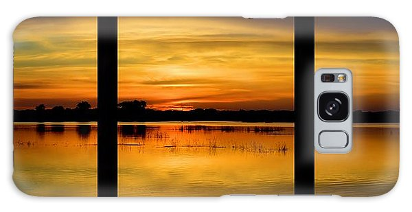 Marsh Rise Tiles 1-3 Galaxy Case by Bonfire Photography
