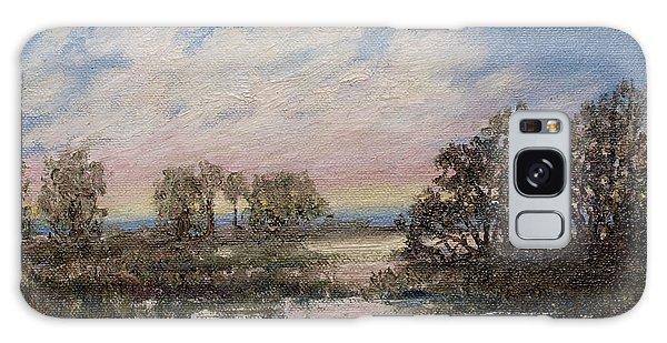 Marsh Sketch # 5 Galaxy Case