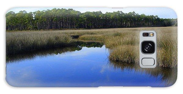 Marsh Water Creek Galaxy Case