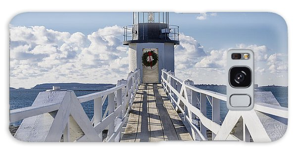 Marshall Point Light Galaxy Case