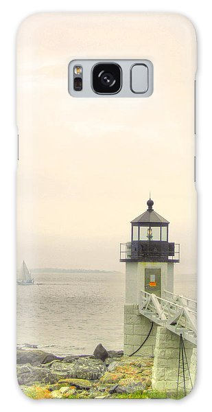 Marshall Point Lighthouse In Maine Galaxy Case