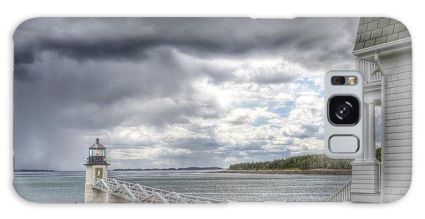 Marshall Point Lighthouse Galaxy Case