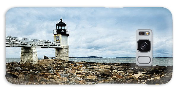 Marshall Point Lighthouse Panoramic Galaxy Case
