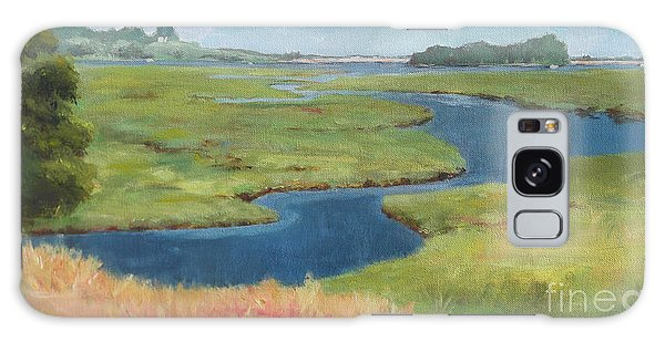 Marshes At High Tide Galaxy Case