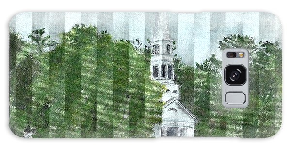 Martha Mary Chapel Galaxy Case