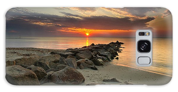 Marthas Vineyard Sunrise Galaxy Case
