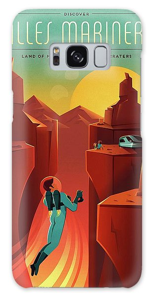Chasm Galaxy Case - Martian Colonization And Tourism Poster by Spacex/science Photo Library