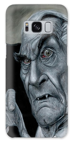 Martin Landau As Bela Galaxy Case by Mark Tavares