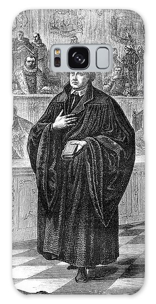 Martin Luther Galaxy Case - Martin Luther by Collection Abecasis