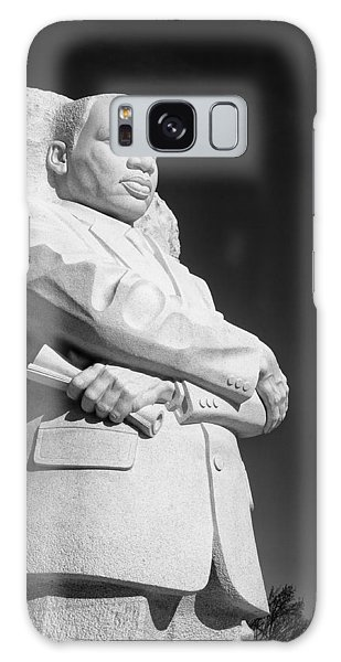 Martin Luther King Jr. Statue Galaxy Case by Celso Diniz