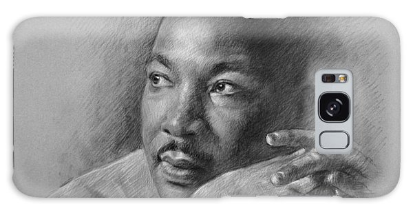 Fine Galaxy Case - Martin Luther King Jr by Ylli Haruni