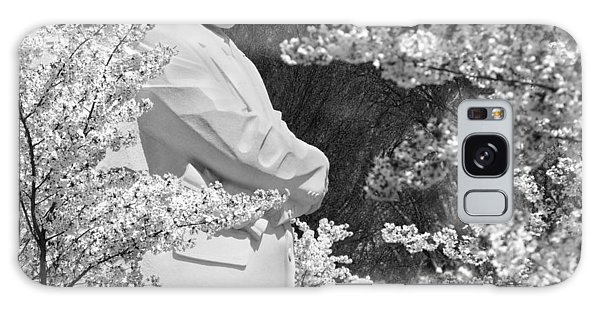 Martin Galaxy Case - Martin Luther King Memorial Through The Blossoms by Mike McGlothlen