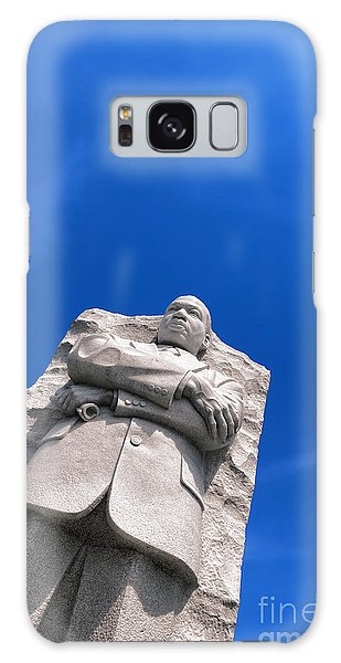 Martin Luther Galaxy Case - Martin Luther King by Olivier Le Queinec