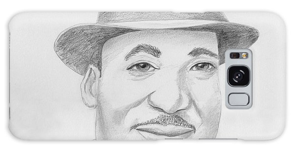 Martin Luther King Sketch Galaxy Case