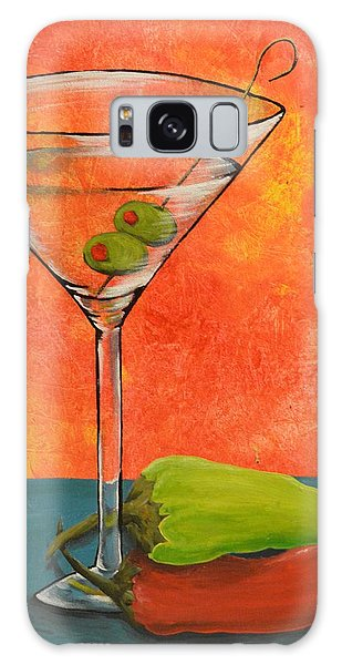 Martini And Pepper Galaxy Case