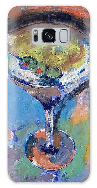 Martini Oil Painting Galaxy Case