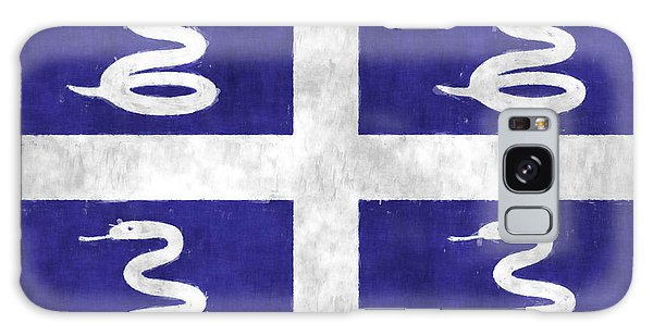 Bahamas Galaxy Case - Martinique Flag by World Art Prints And Designs