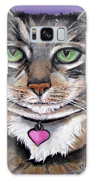 Marvelous Minnie The Gallery Cat Galaxy Case