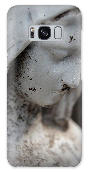 Mary In The Garden Galaxy Case by Lynn Sprowl