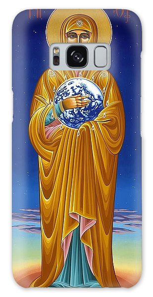 Mary Most Holy Mother Of All Nations 080 Galaxy Case