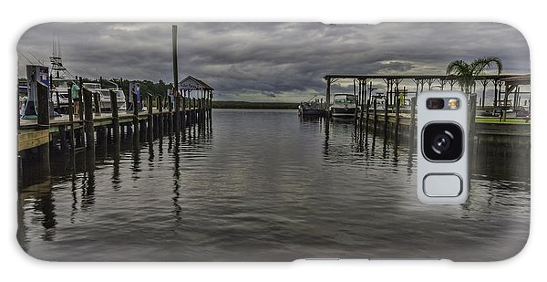 Mary Walker Marina - Stormy Skies Galaxy Case by Brian Wright
