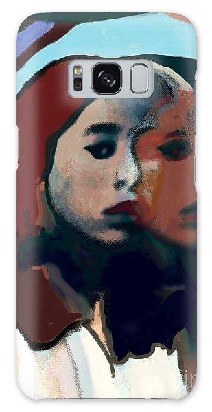 Marygirl Galaxy Case by Susan Townsend