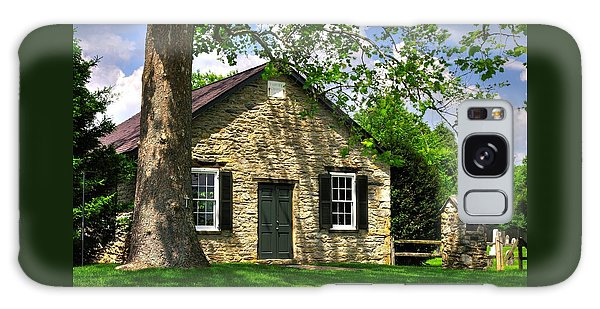 Maryland Country Churches - Fairview Chapel-1a Spring - Established 1847 Near New Market Maryland Galaxy Case
